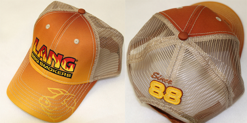 Lang Orange Mesh Hat