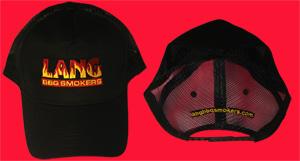 Black Half Mesh Hat