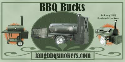 Lang BBQ Bucks Gift Certificates