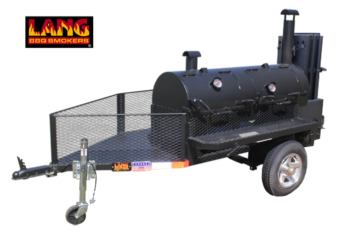 36 Hybrid Deluxe Run-About BBQ Trailer