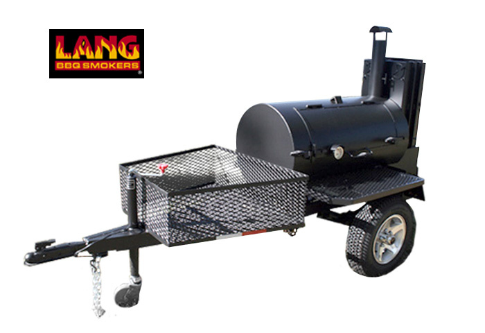 "48"" Deluxe Mobile BBQ Trailer"
