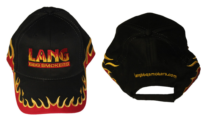 Black Flame Hat